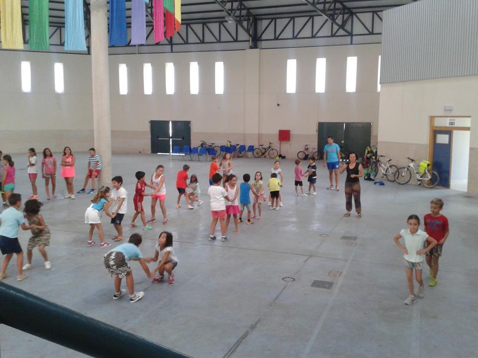 Mucha participación en los campamentos multideportivos infantiles de verano