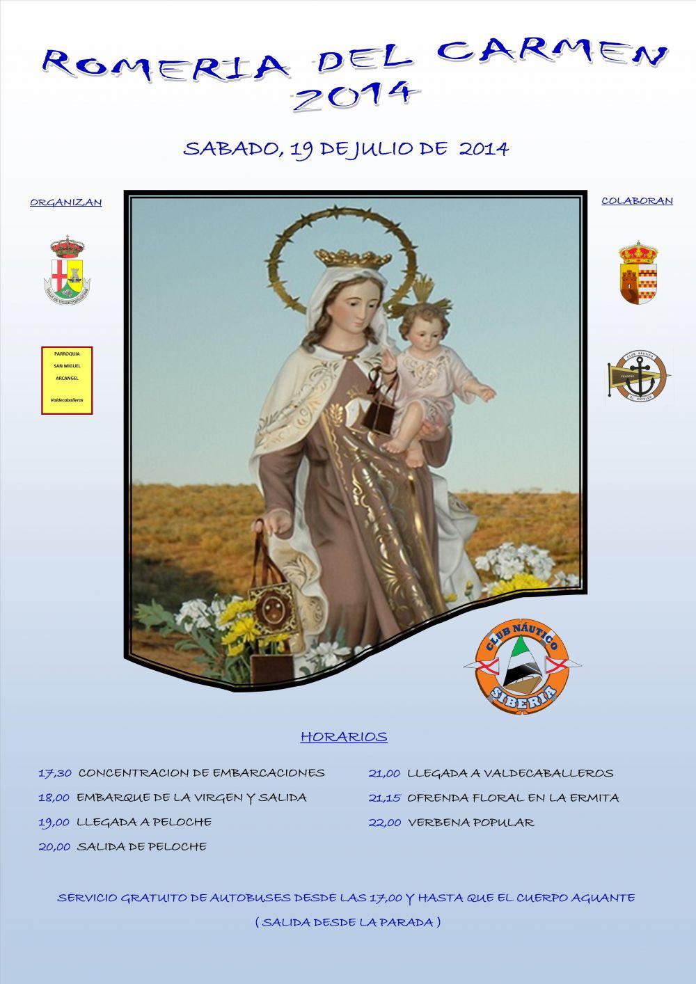 Romería del Carmen 2014