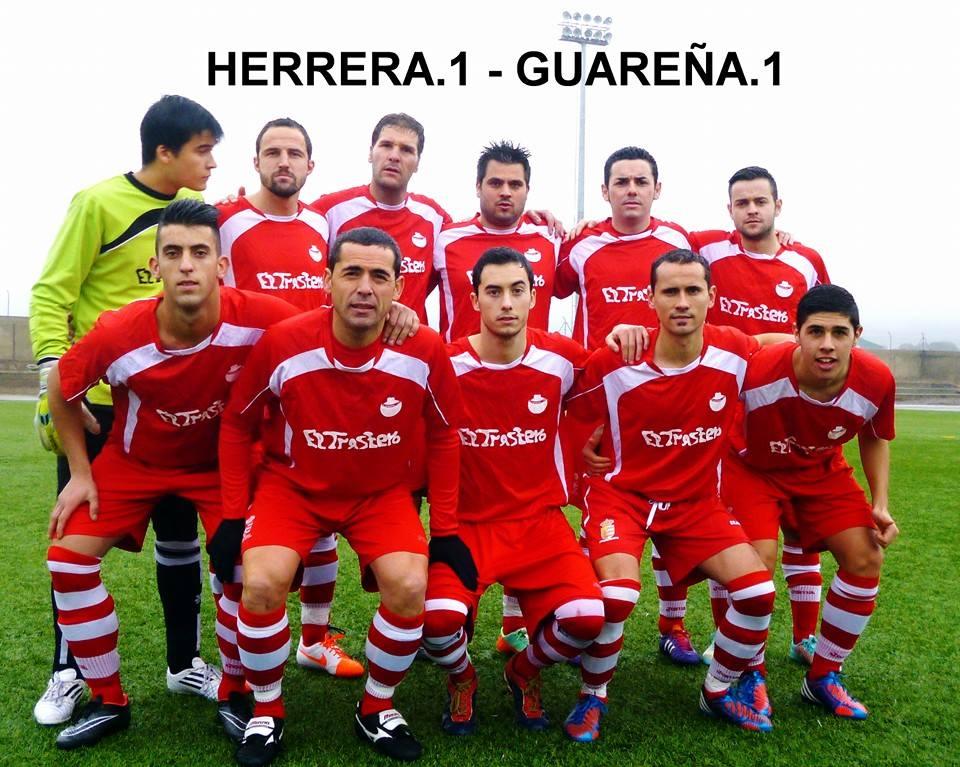 Empate a un gol de la Sp Herrera contra CP Guareña que se enfrenta el domingo al Peleño